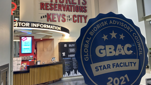 GBAC STAR™-Accredited Facility
