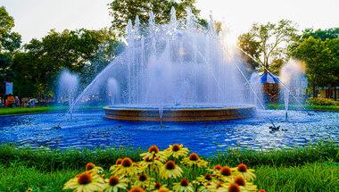 Franklin Square Fountain