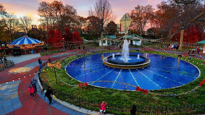 Franklin Square Dusk