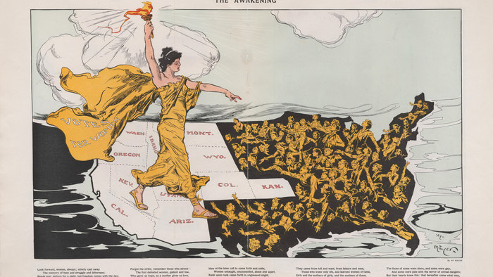 Liberty 1915: One Cartoon, Many Stories
