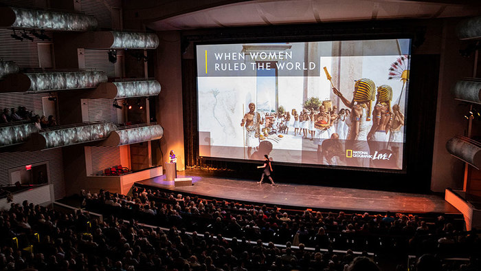 """National Geographic Live Speaker Series: """"When Women Ruled the World"""""""