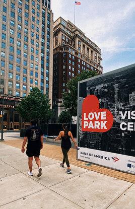 LOVE Park Visitor Center